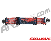 KM Paintball Grill Goggle Strap - Limited Edition Rising Sun Tiger