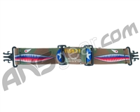 KM Paintball Grill Goggle Strap - Warhawk Jungle Camo