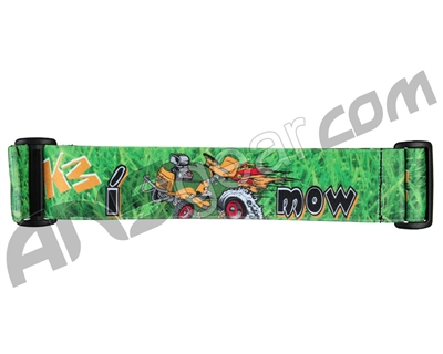 KM Paintball Goggle Strap - I Mow