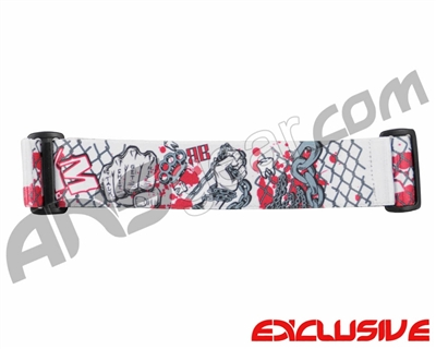 KM Paintball Goggle Strap - Limited Edition Bloody Knuckles