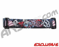 KM Paintball Goggle Strap - Limited Edition Love