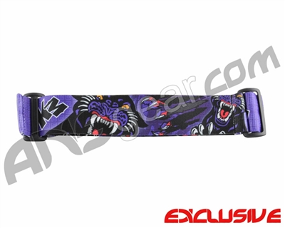 KM Paintball Goggle Strap - Limited Edition Panther