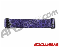 KM Paintball Goggle Strap - Limited Edition Purple Bandana