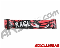 KM Paintball Goggle Strap - Limited Edition Rage