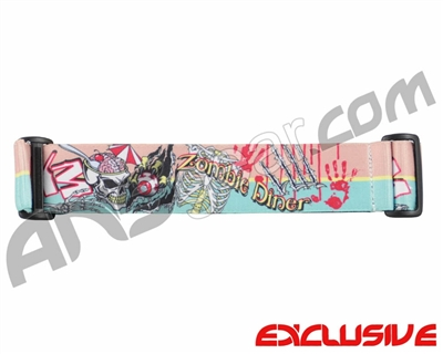 KM Paintball Goggle Strap - Limited Edition Zombie Diner