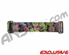 KM Paintball Goggle Strap - Zombie Guns - Pink/Lime