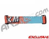 KM Paintball Goggle Racing Strap - Dolphin Orange