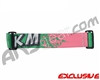 KM Paintball Goggle Racing Strap - Watermelon
