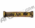 KM Paintball Goggle Strap - Rockstar Edition - Brown/Black