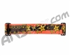 KM Paintball Goggle Strap - Rockstar Edition - Orange/Black