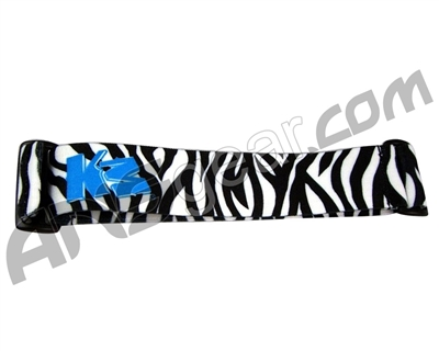 KM Paintball Goggle Strap - White Tiger