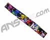KM Paintball Headband - Black Skull Rave