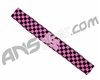 KM Paintball Headband - Checkered Black/Pink