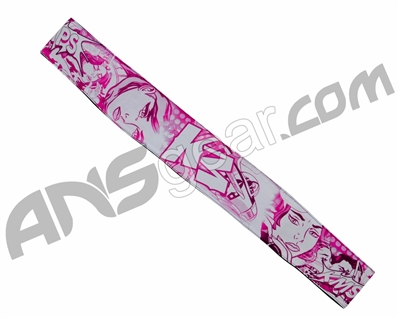 KM Paintball Headband - Comic Pink