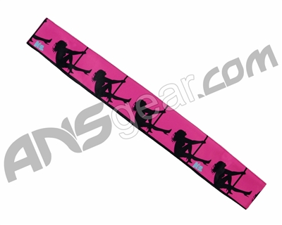 KM Paintball Headband - Pink Stripper