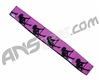 KM Paintball Headband - Purple Stripper