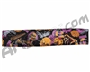 KM Paintball Headband - Zombie Orange/Purple