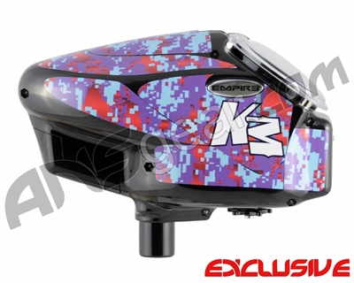 KM Halo Too Loader Wrap - Digi Camo Purple/Red
