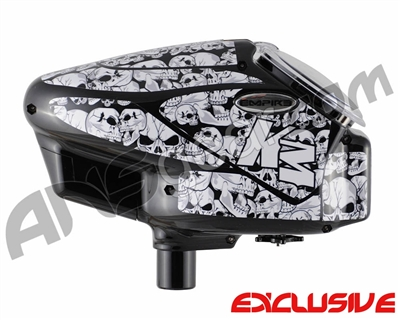 KM Halo Too Loader Wrap - Scary Skulls