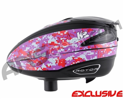 KM Rotor Loader Wrap - Digi Camo Purple/Blue/Red