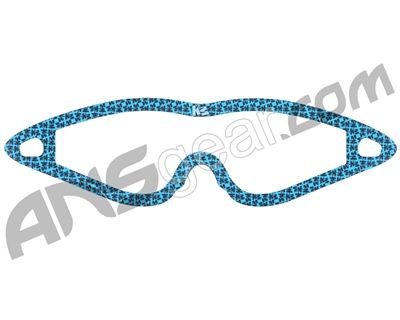 KM Paintball Mask Wraps - Event Lens - All Over Blue