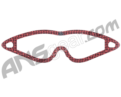 KM Paintball Mask Wraps - Event Lens - All Over Red