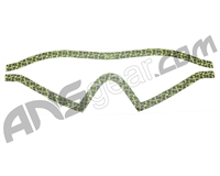 KM Paintball Mask Wraps - I4 Lens - All Over Lime