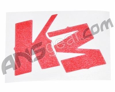 KM Logo Sticker - Red