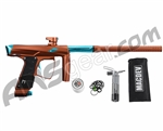 MacDev Clone GTi Paintball Gun - Brown/Aqua