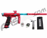 MacDev Clone GTi Paintball Gun - Red/Aqua