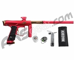 MacDev Clone GTi Paintball Gun - Red/Champagne
