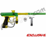 MacDev Drone DX Paintball Gun - Green/Dust Yellow
