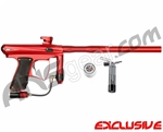 MacDev Drone DX Paintball Gun - Red/Red/Black