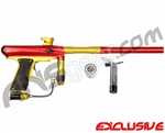 MacDev Drone DX Paintball Gun - Red/Yellow/Black