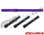 "MacDev Shift 6 Piece 14"" Barrel Kit - Autococker - Electric Purple"
