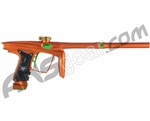 Machine Vapor Paintball Gun - Dust Orange w/ Green Accents