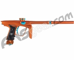 Machine Vapor Paintball Gun - Dust Orange w/ Teal Accents