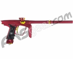 Machine Vapor Paintball Gun - Dust Red w/ Gold Accents