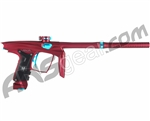 Machine Vapor Paintball Gun - Dust Red w/ Teal Accents
