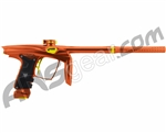 Machine Vapor Paintball Gun - Orange w/ Gold Accents