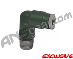90 Degree Macroline Fitting Swivel - Dust Olive