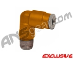 90 Degree Macroline Fitting Swivel - Dust Orange