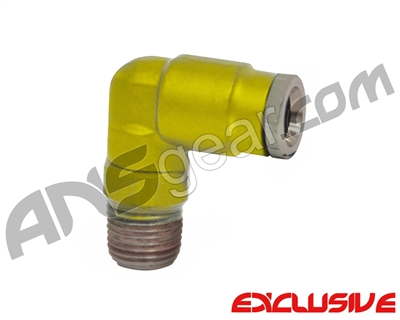 90 Degree Macroline Fitting Swivel - Dust Yellow