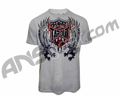 Tapout T-Shirt Jake Shields Eagle Warrior - Grey