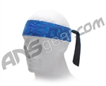 Monkey With a Gun Headband Metallic - Blue