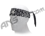 Monkey With a Gun Headband Metallic - Black/Silver