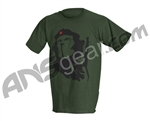 Monkey With a Gun New Style Che T-Shirt - Olive