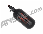 Ninja Carbon Fiber Air Tank w/ Adjustable Regulator - 45/4500 - Black