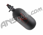 Ninja Dura Carbon Fiber Air Tank w/ Adjustable Regulator - 77/4500 - Black