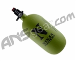 Ninja Dura Carbon Fiber Air Tank w/ Ultralite Regulator - 77/4500 - Olive Drab